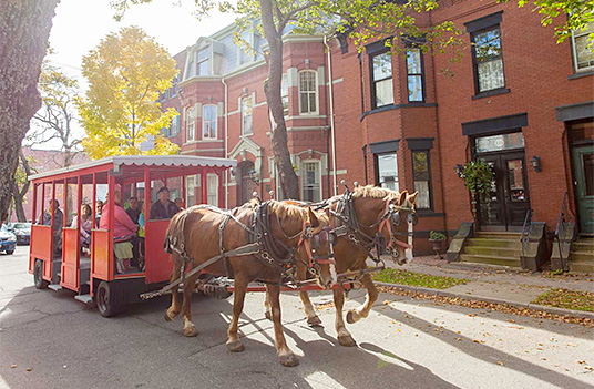 Contact East 2016 Host City: Saint John, NB |  Uptown Horse Trolley